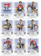 2018 NRL Elite Newcastle KNIGHTS 9 Card Mini Team Set