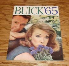 Original 1965 Buick Full Line Sales Brochure 65 Electra Le Sabre Skylark