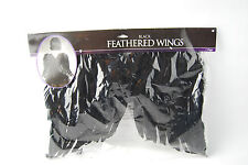 Angel Feathered Wings Black Costumes USA - New
