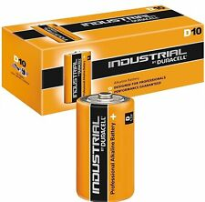 10 x Duracell D Size Industrial Procell Alkaline Batteries (LR20 MN1300 Mono)