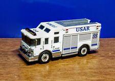 Matchbox Fire Rescue Emergency Hazard Squad USAR Firetruck custom
