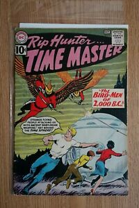 DC Rip Hunter...Time Master (Oct,1961) Comic Book