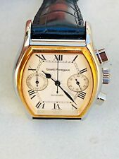 NOS Girard-Perregaux Richeville Ref;2750 Chronograph 18K/SS  Men's Auto Watch