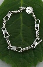 ACTS Fishers of men Bracelet 9'' Standard Style! Sterling Silver!