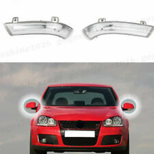 2x LED Rearview Mirror Indicator Side Signal Lights For VW MK5 Golf PASSAT JETTA