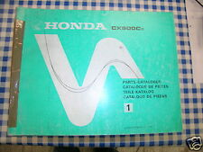 BB 13449c41 Catalogo Parti di Ricambio HONDA CX 500 C edizione 1982
