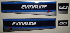 Evinrude Outboard Hood Decals 40/60 hp