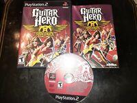 Guitar Hero: Aerosmith (Sony PlayStation 2, 2008)  *BUY 2 GET 1 FREE +FREE SHIP*