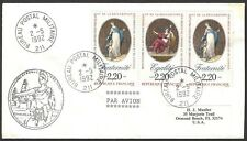 United Nations UNTAC APRONUC 1992 Cambodia Mission FRANCE contigent cover