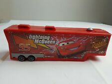 Disney Pixar Cars Mack and Lightning Mcqueen Play Truck FAST FREE SHIPMENT