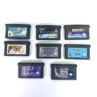 Gameboy Advance games Lot of 8 Game Boy OEM Video Games