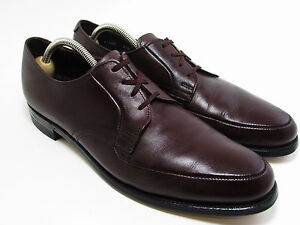 Executive Imperials Mens Brown Leather Dress 11.5AA Oxford Lace Up Shoes