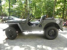 1947 Willys Cj2A Military