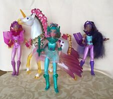 Starla/Gwenevere and the Jewel Riders - 3 Dolls & Sunstar Horse - Excellent Cond