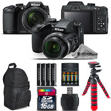 Nikon COOLPIX B500 Camera 40x Optical Zoom + Extra Battery + Backpack -16GB Kit