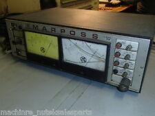 Marposs 1AD6933 Monitor Display Gauge Unit _8060752412_DE831935 w/Gauging Unit