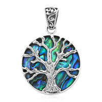 BALI LEGACY Sterling 925 Silver Abalone Shell Pendant Jewelry Gift for Women