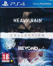 Heavy Rain & and Beyond Two Souls Collection PS4 Game Brand New Sealed
