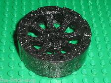 Roue LEGO Castle BlackGlitter Wheel spoked ref 55817 / set 7037 7038 7036 ...