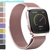 For Fitbit Versa Band Replacement Milanese Stainless Steel Wrist Watch Band