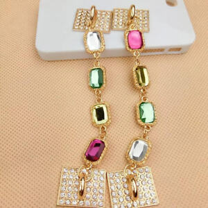 Universal Cell Phone Tablet Strap Chain Holder Bracelet-Fashion Style Crystal
