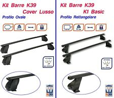 Barre Portatutto Portapacchi BMW X3 E83 2004>2010 5 PORTE RETTANGOLARI K39