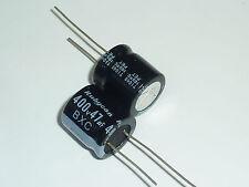 50pcs 400V47uF 400V 18X18mm BXC Rubycon MINIATURE Capacitor