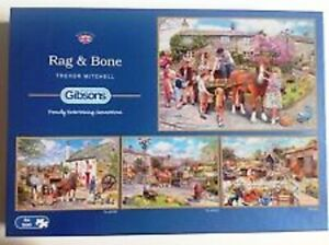 Gibsons Jigsaw Puzzles Rag & Bone 4 X 500