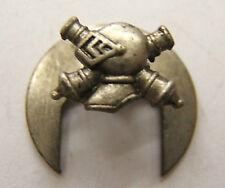 Réduction insigne Chars de Combat BCC RCC 1940 WWII original poinçon AB