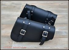 LOT de 2 sacoches latérale en Cuir pour Sportster - sportster bag left and right