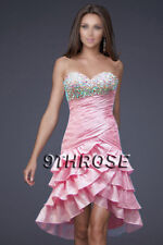 SEIZE THE DAY! PINK BEADED COCKTAIL/PARTY/HOMECOMING/BRIDESMAID DRESS AU18/US16