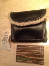 BNWT Ladies / Girls BILLABONG Bi Fold Wallet Fleece Accent Leather Like FREE S/H