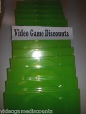 Lot of 15 Xbox 360 1 Disc Genuine Microsoft OEM Replacement Game Case CD DVD Box