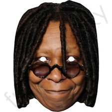 Whoopi Goldberg American Celebrity Card Mask - All Our Masks Are Pre-Cut!