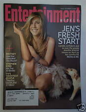 JENNIFER ANISTON 2008 Entertainment Weekly Magazine MARLEY & ME