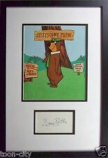 Yogi Bear 1959 Original Production cel hand painted signed Daws Butler