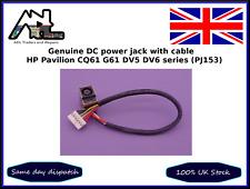 Originales Hp Pavilion CQ61 G61 DV5 DV6 serie PJ153 Portátil Conector DC Puerto De Carga