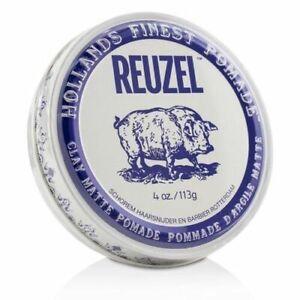 (2 PACK) Reuzel Clay Matte Pomade  4 OZ. Hollands, Finest!