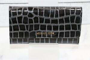 MICHAEL Michael Kors Jet Set Large Trifold Wallet - Black