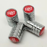 Fiat valve dust caps tyre wheel a set of 4x brand new UK seller