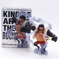 One Piece Monkey·D·Luffy Gear 4 Kong Gun Action Figure PVC Collection Toy In Box