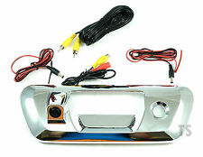 15 16 17 Chrome Tailgate Bowl With Camera For Nissan Frontier Navara Np300 D23
