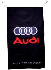 AUDI FLAG BANNER  VERTICAL q7 r8 a4 a4 a6 a8 tt a3 5 X 3 FT 150 X 90 CM