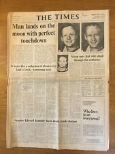 Moon Landing   21 July 1969       The Times            Original Whole Newspaper