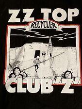Rare Vintage 1991 Zz Top Recycler U.K. Concert Tour Shirt