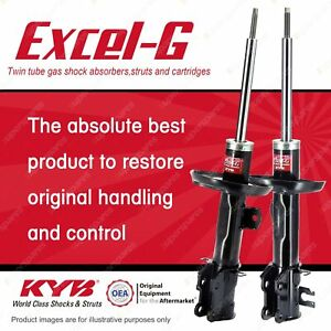 2 x Front KYB Excel-G Strut Shock Absorbers for Opel Astra PJ 1.6 Hatchback