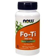 2 x Fo-Ti, Ho Shou Wu, 560 mg, 100 Capsules(200 caps in total)