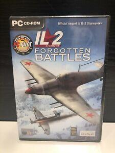 IL-2 Sturmovik Forgotten Battles PC CD-ROM  - NEW & SEALED