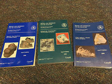 New ListingRocks And Minerals For The Collector Reports 3 books
