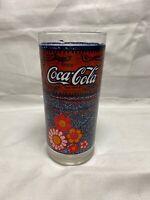 "COCA COLA Vintage GLASS Atlanta Olympics 1996 McDonalds Coke Malaysia 5.5/"" Tall"